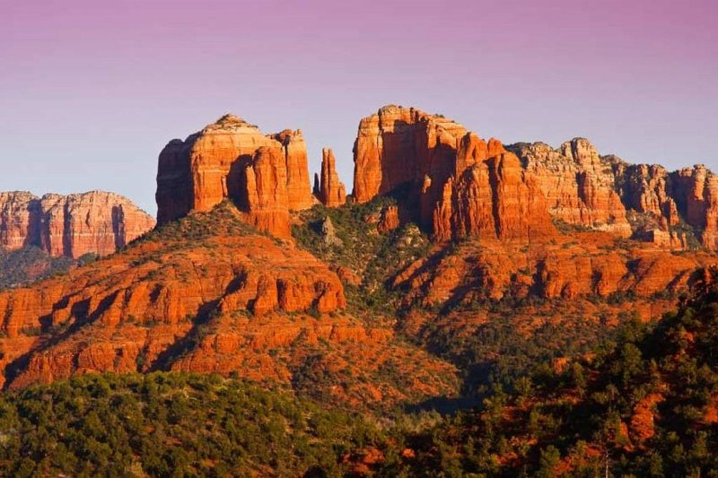 Beautiful red rock view.
