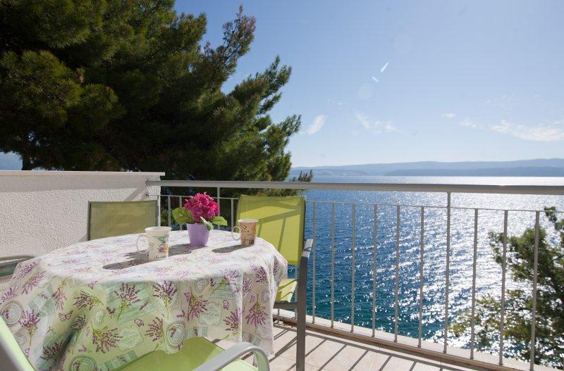 Amazing view apartments by the sea, location de vacances à Stanici