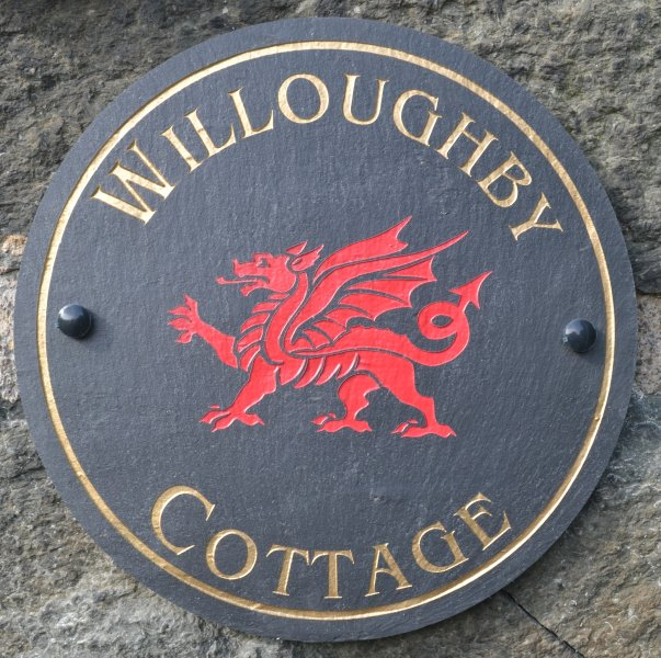 Willoughby Cottage sign.