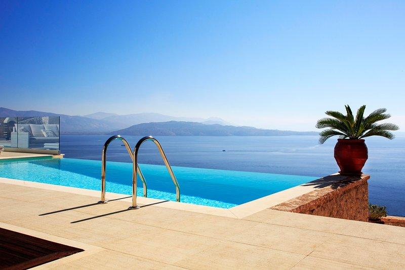 Corfu Villa Total View, holiday rental in Nissaki