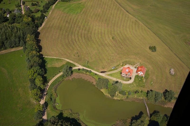 Dom Nad Stawem, location de vacances à Drawsko Pomorskie