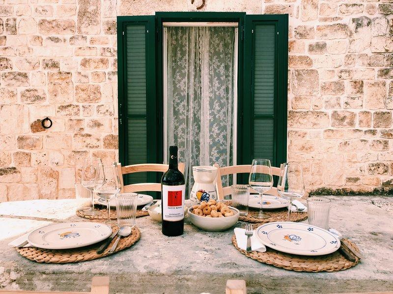 Al Trullo Sovrano - Rental Home - Air Condition and Free Wi-Fi, holiday rental in Figazzano