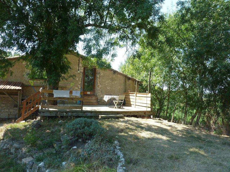 Location gîte à la campagne, casa vacanza a Castelnau-de-Montmiral