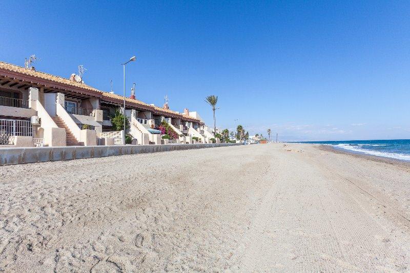playa delante de Los Kiwis