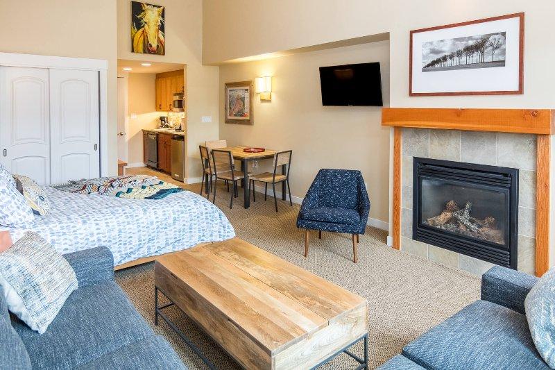 Moderno condominio de un dormitorio en Founders Pointe