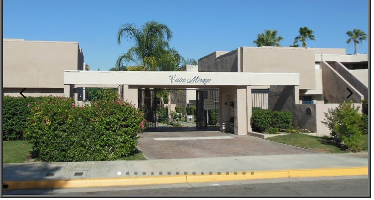 Vista Mirage entrance