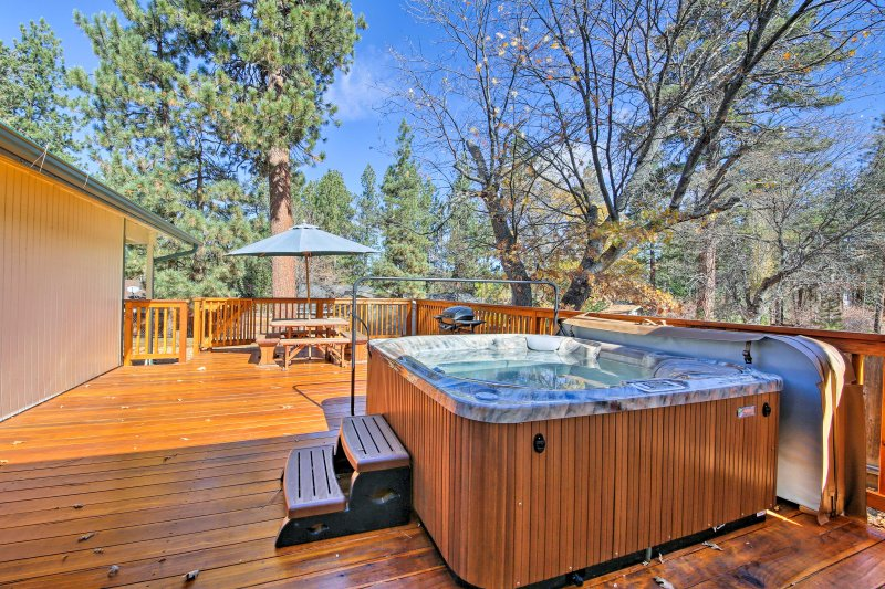 Find a quaint escape with big personality when you stay at this vacation rental cabin in Big Bear!