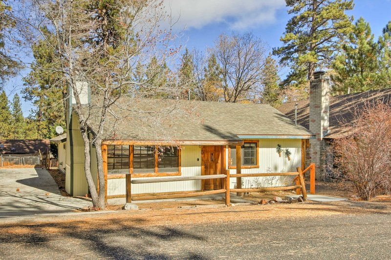 Enjoy a cozy cabin escape in the Big Bear mountains  - A California adventure you're sure to remember!
