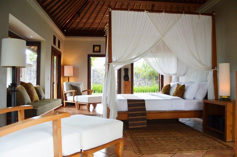 Villa B, een villa met een eigen tuin een slaapkamer