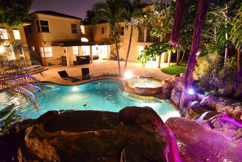 Incredibile di notte per la vostra in-house divertimento!