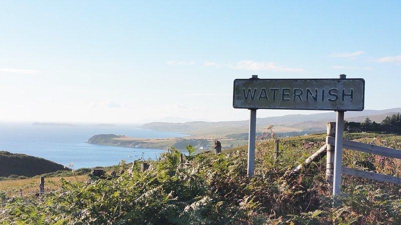 La impresionante península de Waternish
