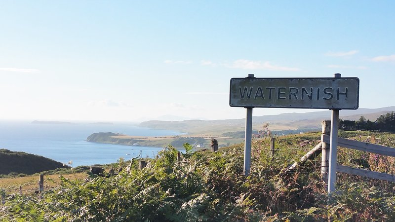 The stunning Waternish Peninsula