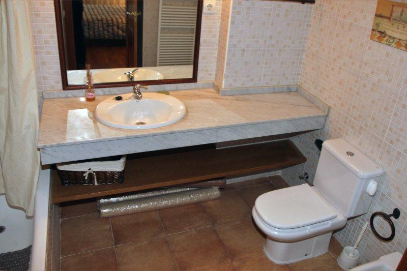 bagno appartamento Vielha-