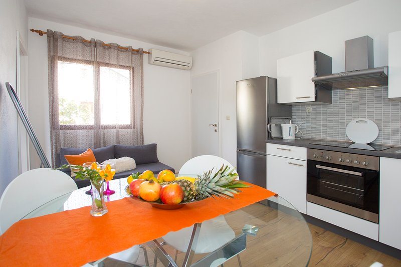 Family Apartments & Terrace, holiday rental in Gustirna