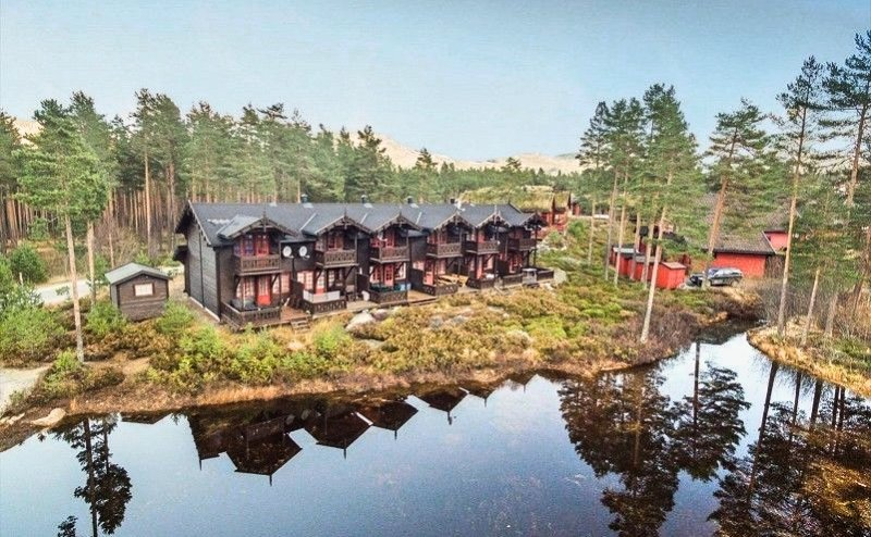 High standard vacation home with sentral location, location de vacances à Nissedal Municipality
