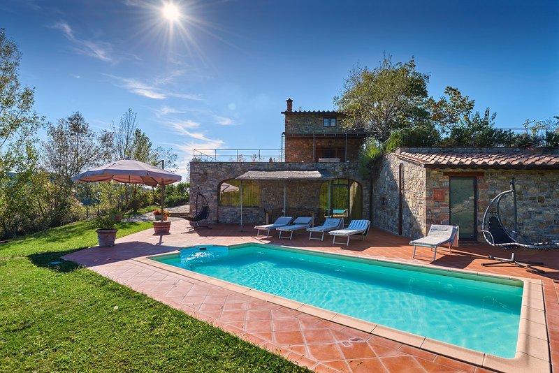 Villa il Roseto, alquiler de vacaciones en Gaiole in Chianti