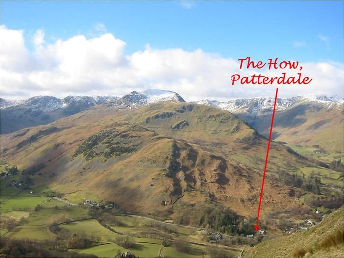 Our holiday cottage is close to Helvellyn, St Sunday Crag and all the Eastern Fells of the Lakes
