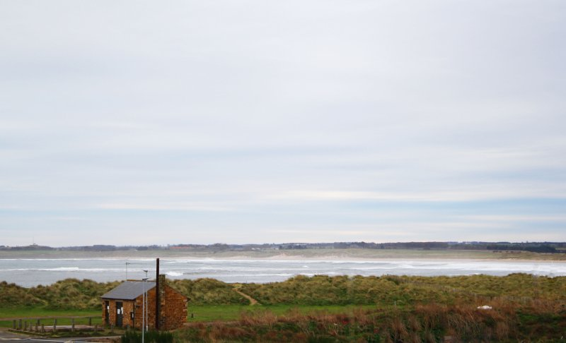 NEW holiday rental !! Beadnell bay as seen from the comfort of your own balcony!