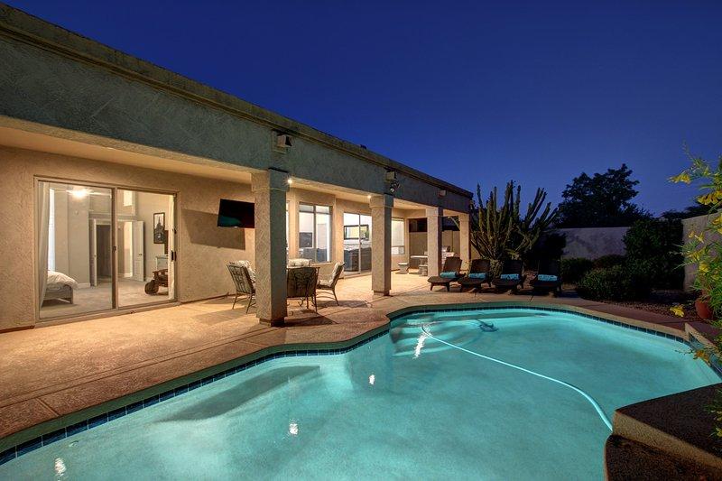 Amazing Heated Pool-Extreme Luxury Home is Scottsdale Best Neighborhood.