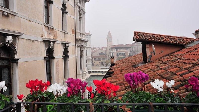 Vista do apartamento varanda Marino.