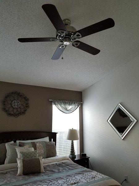 Master Bedroom #2 Ceiling Fan