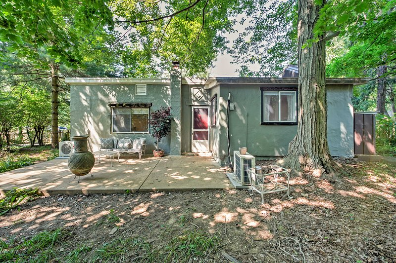 Rejuvenate in this quaint, vintage cottage that's nestled in the lush woods in Wilmington, Delaware!