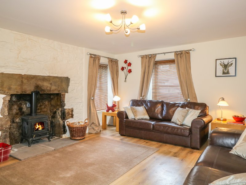 HONG KONG HOUSE, wood burner, enclosed garden, family friendly, in Tomintoul, holiday rental in Tomintoul