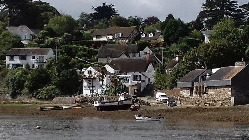 The Shipwrights Arms, Helford. 20 mins drive