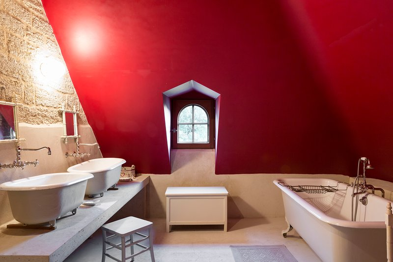 dormitório banheiro