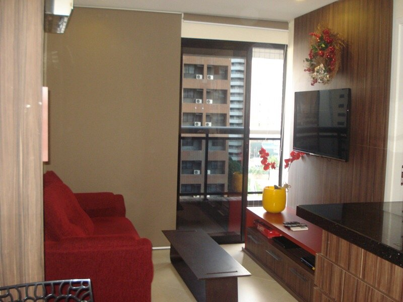 Flat apartment in luxury condominium offering all structure of leisure and complete furniture.