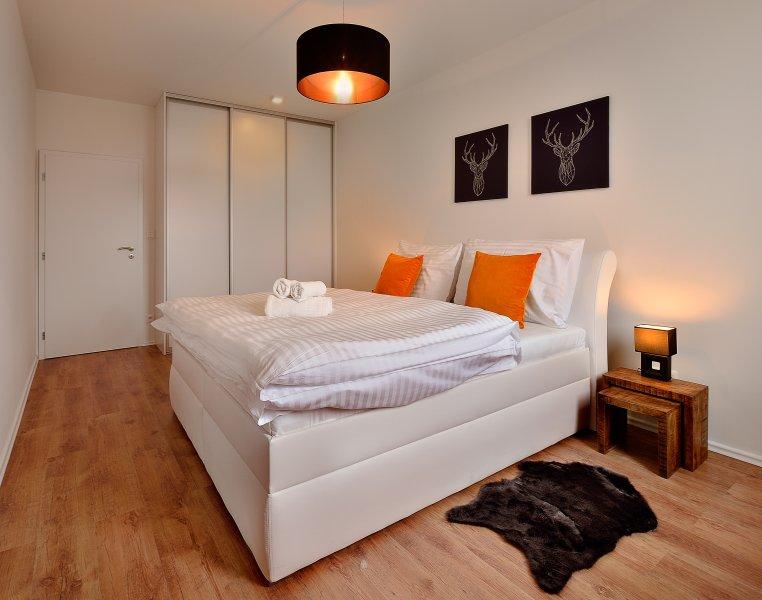 Deluxe 2 Bedroom Apartment - Prievozska Street 10, holiday rental in Bratislava Region