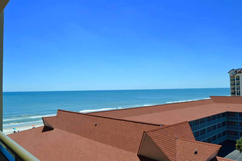 Ocean and city views from this fully updated four bedroom  unit