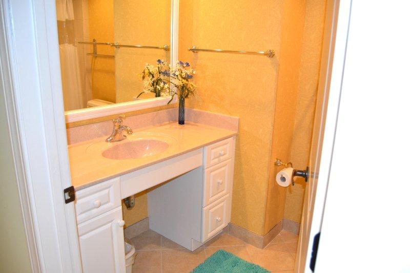Baño de visitas 3, gran bañera / ducha combinado.