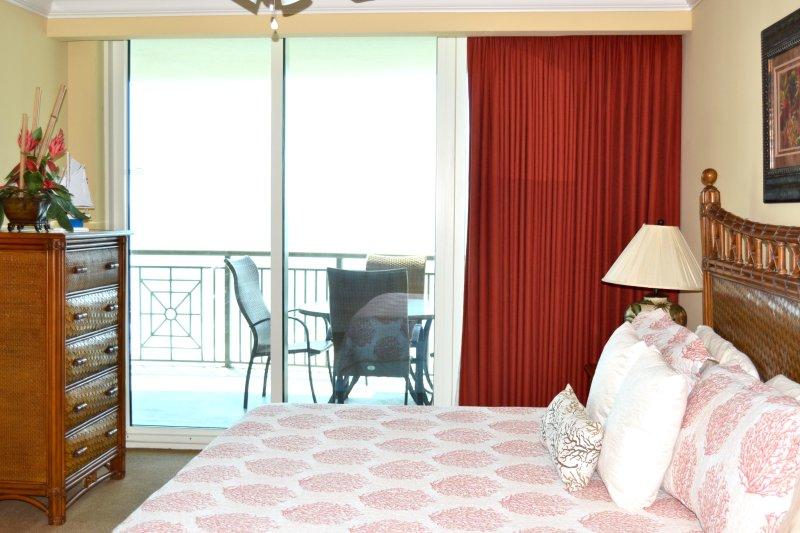 Gran dormitorio principal, cama de matrimonio, Acceso a Internet Balcón