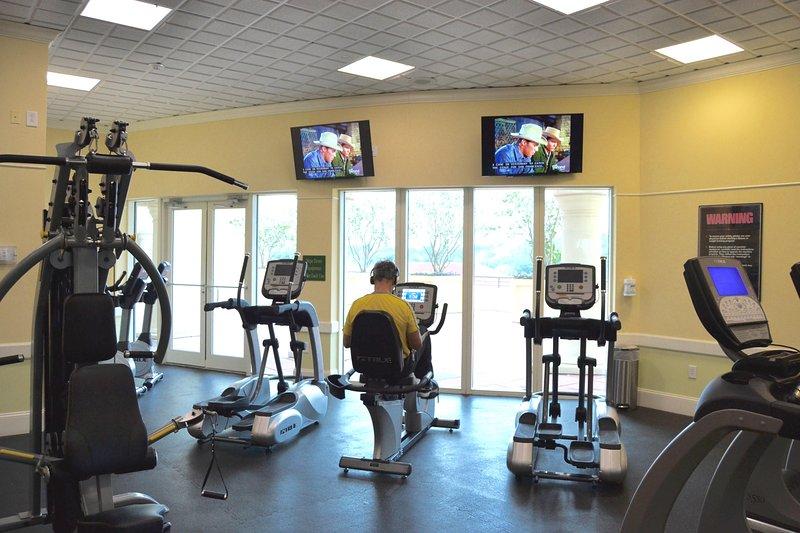 5 ° piano, Centro fitness