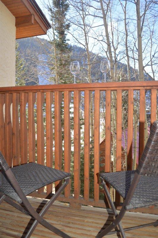 Apres Ski na varanda privada