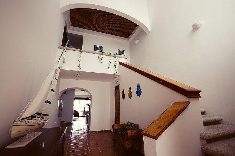 Foyer doppia cupola Soffitti - bella anche funzionali, sei in un Messico Hacienda!