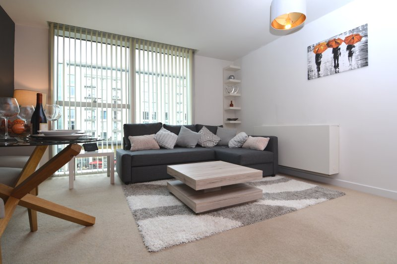 Carnegie House - Modern, stylish city centre apartment, holiday rental in Bletchley