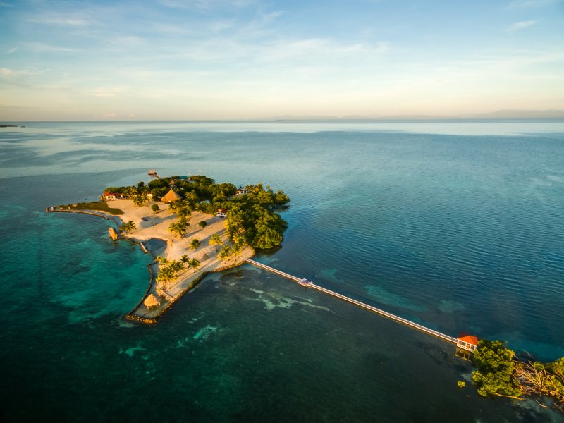 ROYAL BELIZE: Exclusive All-Inclusive Private Island, vakantiewoning in Stann Creek