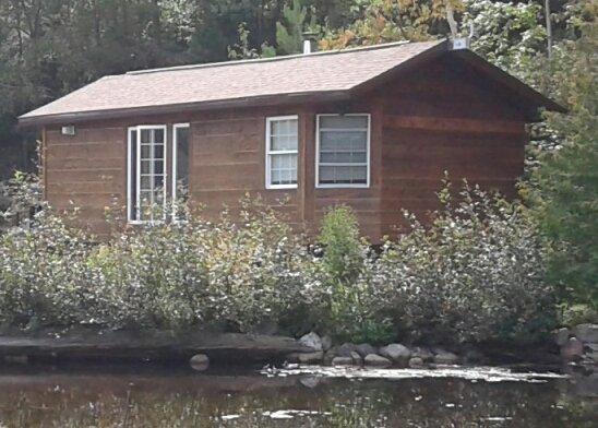 We call it the Honeymoon Cabin