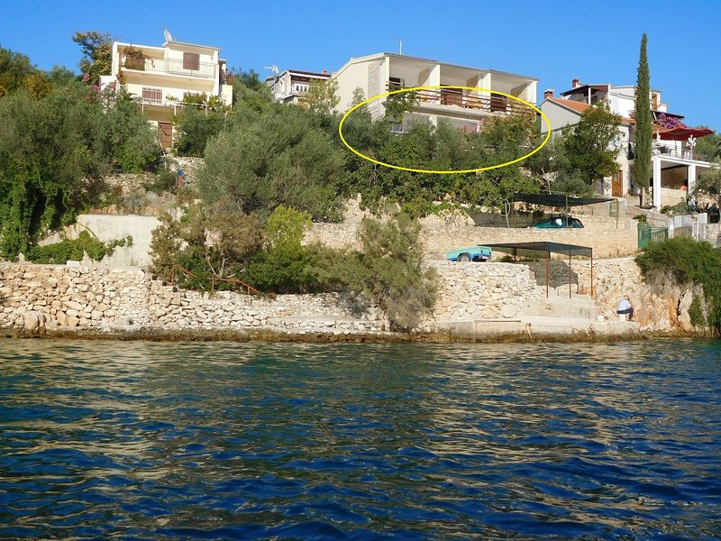 Ivan  - 15 m from beach: A1(7) - Vinisce, vacation rental in Vinisce