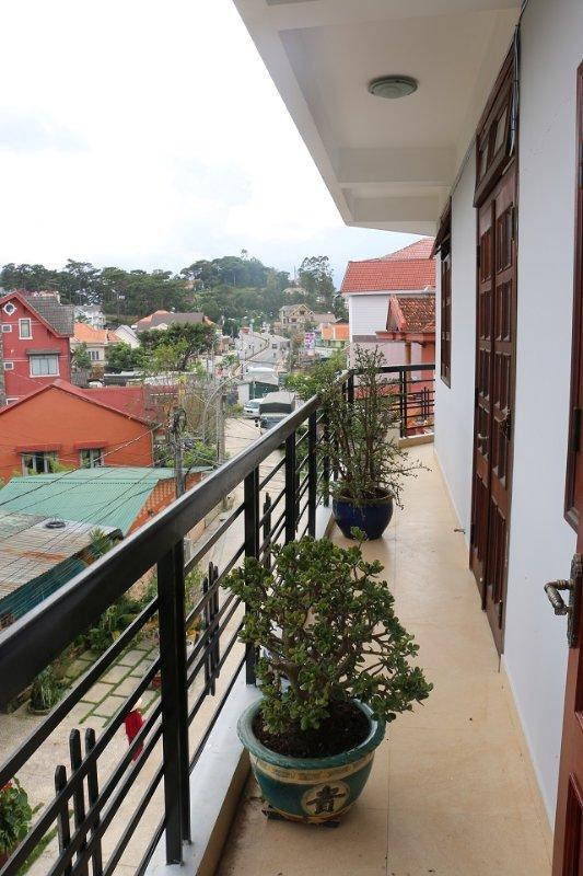 Private balcony in room 4