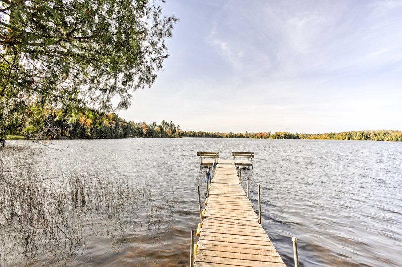 Winchester Condo on South Turtle Lake w/Boat Slip!, vacation rental in Manitowish Waters