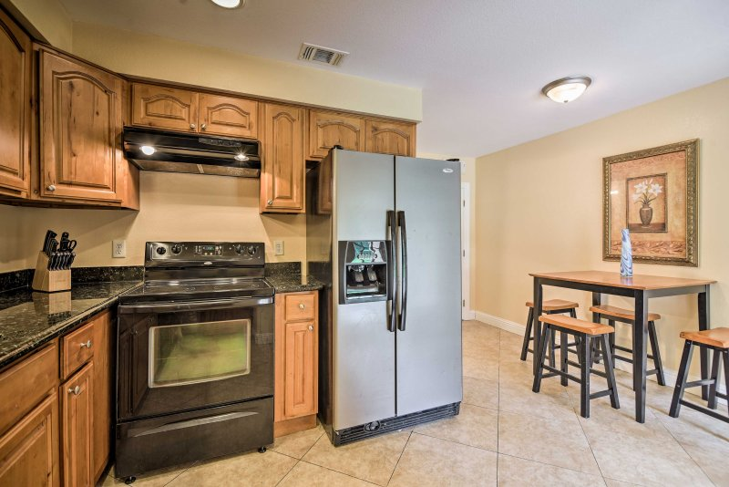Escape to the coast by booking this 2-bedroom, 3-bathroom vacation rental condo in Gulfport!