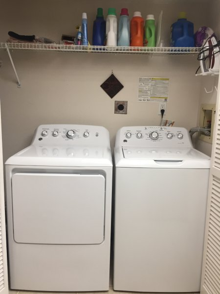 Nueva lavadora y secadora 11/2017