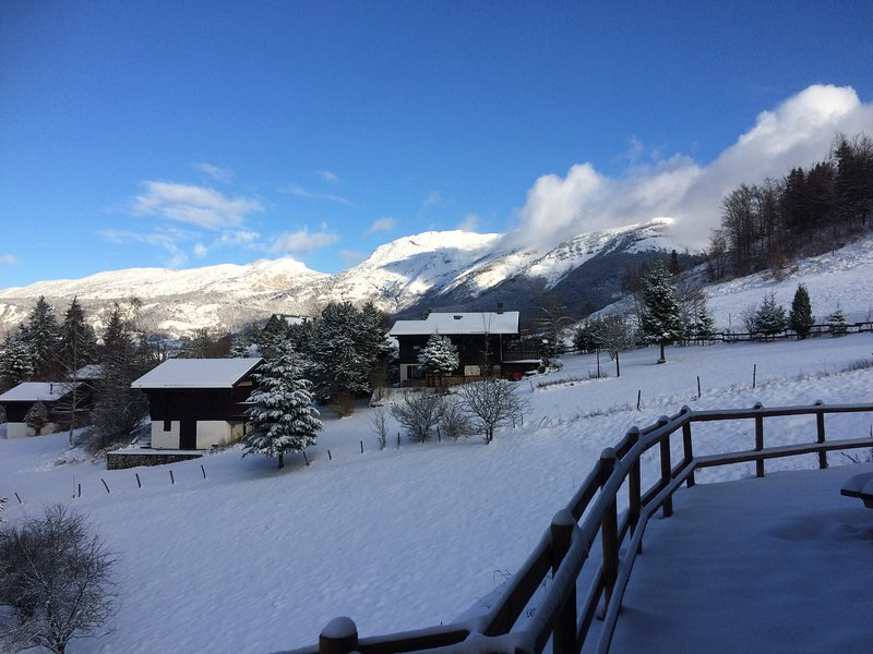 Appart. neuf dans chalet bois 6/8 pers., holiday rental in Isere