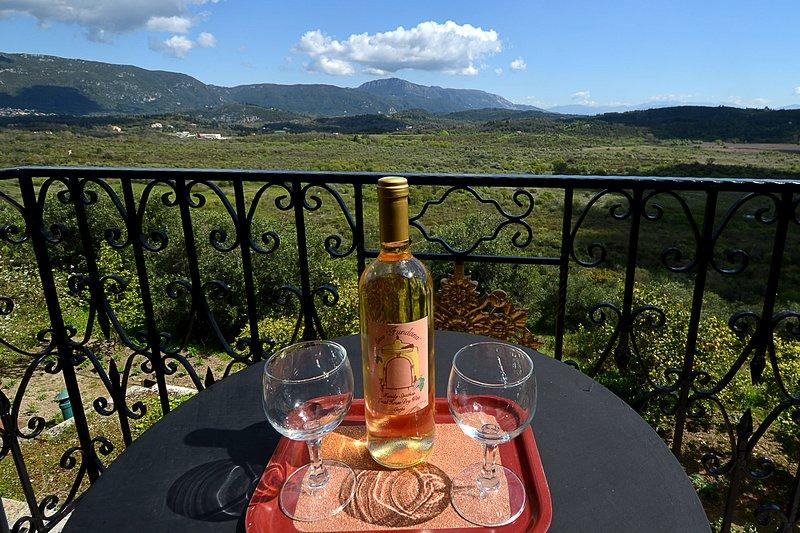 Fundana Villas Corfu   vista
