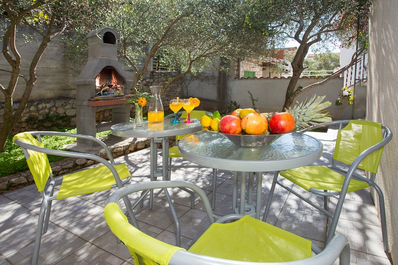 Family Apartment & private Terrace, holiday rental in Gustirna