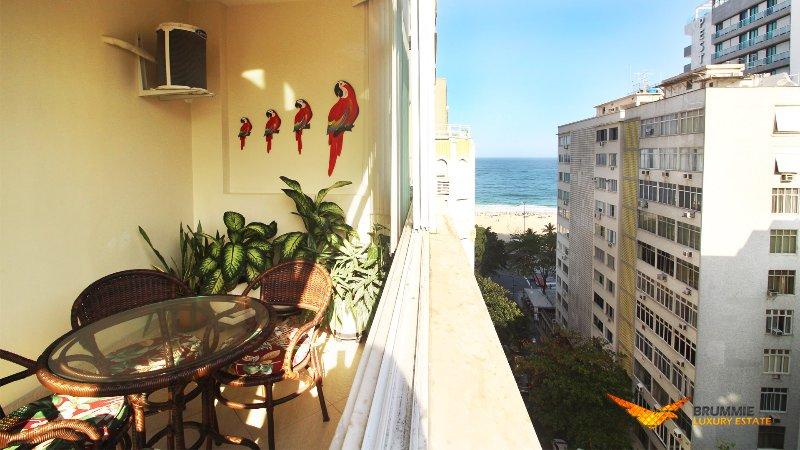 View of Copacabana Beach