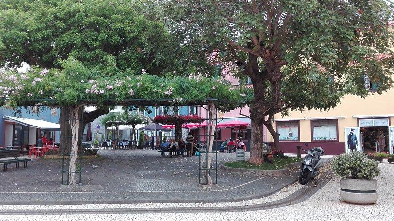 One of the squares of Santa Cruz